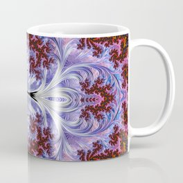 BBQSHOES: Fractal Art Design Mother Of Pearl #1814 Coffee Mug