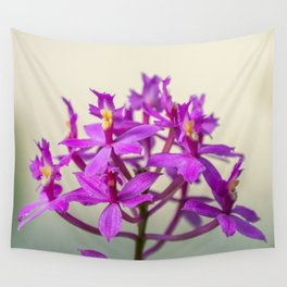 Epi Pretty Lady Misumi Orchid Flowers Wall Tapestry