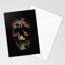 Paisley Skull Stationery Cards
