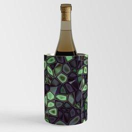 Fractal Gems 04 - Emerald Dreams Wine Chiller