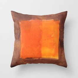 color abstract 6 Throw Pillow