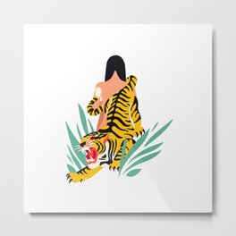 Waking the tiger Metal Print