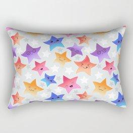 Kawaii stars Rectangular Pillow