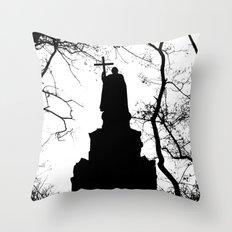 eternal silhouette Throw Pillow