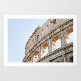 Colosseum in Rome, Italy Art Print