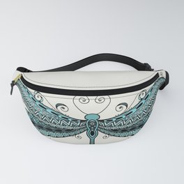 Dragonfly dreams turquoise Fanny Pack