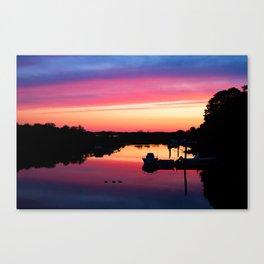 Block Island Sunrise Canvas Print