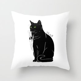 The daily activity Throw Pillow