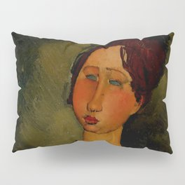 "Amedeo Modigliani ""Little Servant Girl"" Pillow Sham"