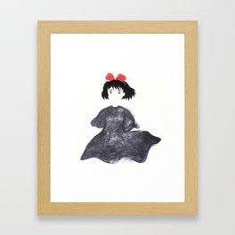 Kiki- Spirited Set Framed Art Print