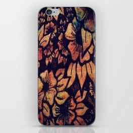 Rainbow Florals  iPhone Skin