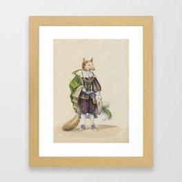 Noble Fox for Kids Framed Art Print