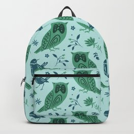 Night Owl an Early Bird Backpack