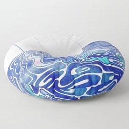 Water Nymph XC Floor Pillow