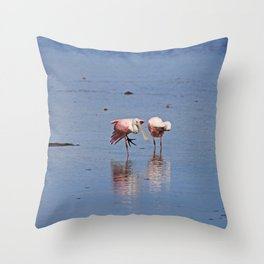 Hanging in the Balance Throw Pillow