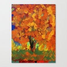Fall Freedom Canvas Print