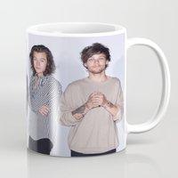 1d Mugs featuring New 1D by kikabarros