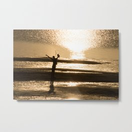 Take in the Morning Metal Print