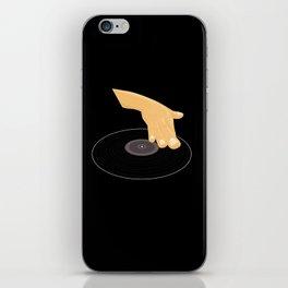 Dj Scratch iPhone Skin