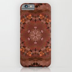 Hardwood Hill Brown Kaleidoscope Slim Case iPhone 6s