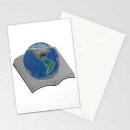 The World in Pages Stationery Cards