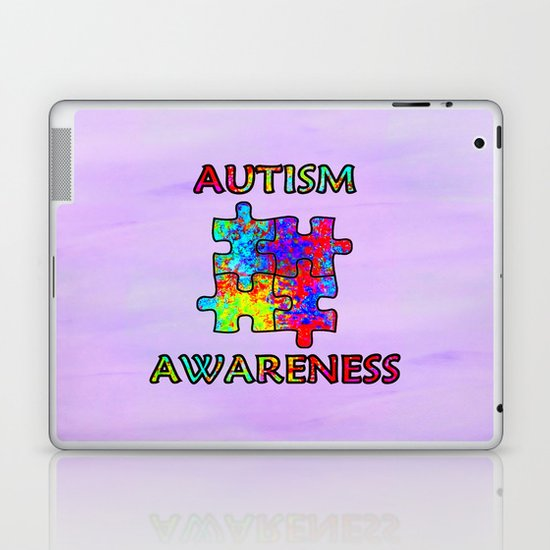 Autism Awareness Laptop & iPad Skin