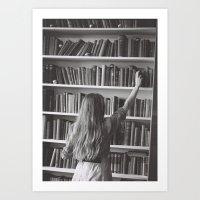 The Book Thief  Art Print