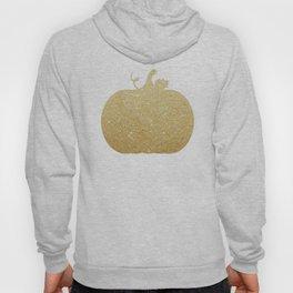 Gold Glitter Pumpkin Hoody