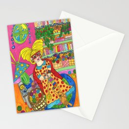 Knitting Socks Stationery Cards