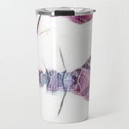 Girl in Space Pastel Dream Travel Mug