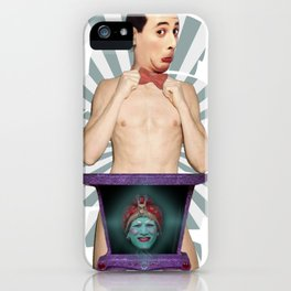 Sexy Pee Wee Perman iPhone Case