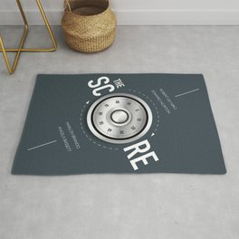 The Score - Alternative Movie Poster Rug