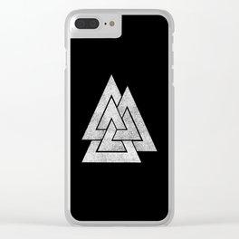Valknut Clear iPhone Case
