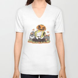 Lenore, the Cute Little Dead Girl Unisex V-Neck