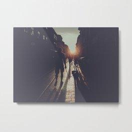 City light photography #city #photo Metal Print