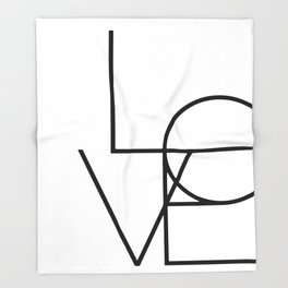 LOVE Throw Blanket