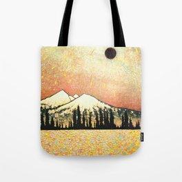 """Nibiru Returns"" Landscape painting Tote Bag"