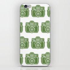 I Still Shoot Film Holga Logo - Green iPhone Skin