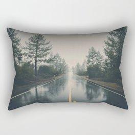 Hiking road explore Rectangular Pillow