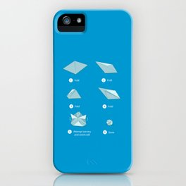 Step-by-step Origami iPhone Case