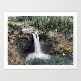Snoqualmie Falls #2 Art Print