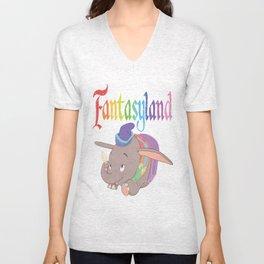 Fantasyland Unisex V-Neck