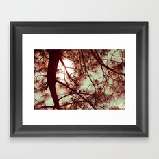 Árbol Framed Art Print