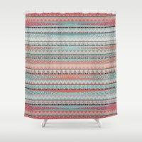 boho Shower Curtains featuring BOHO by Nika