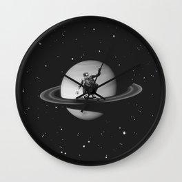 Planetary Ride Wall Clock
