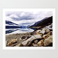 canada Art Prints featuring Canada by amberino