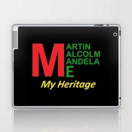 Martin Malcolm Mandela & Me, My Heritage Laptop & iPad Skin