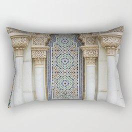 Moroccan Fountain Rectangular Pillow
