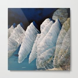 Ice Shell Metal Print
