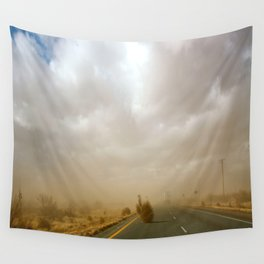 Dust Roll Wall Tapestry